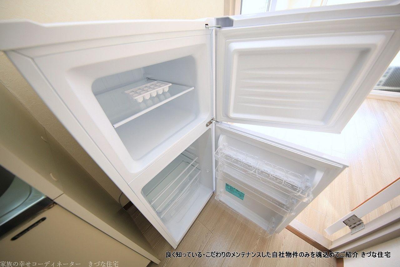 新品です。冷凍庫スペースが嬉しいです