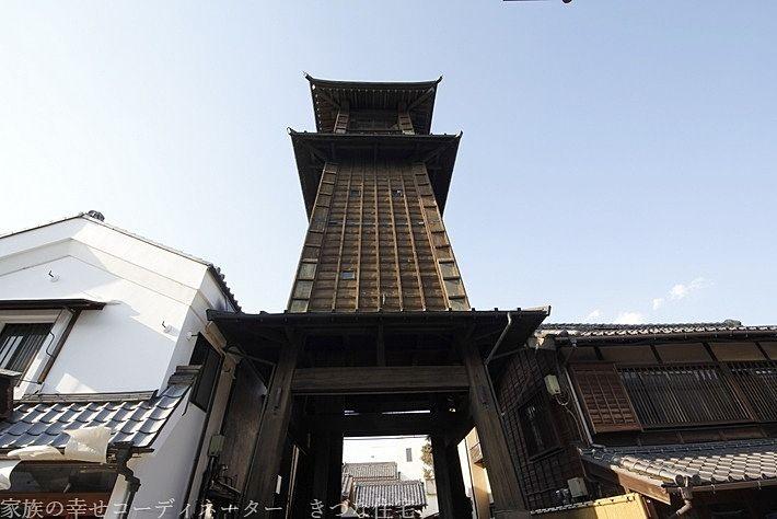川越 歴史スポット 観光地 時の鐘