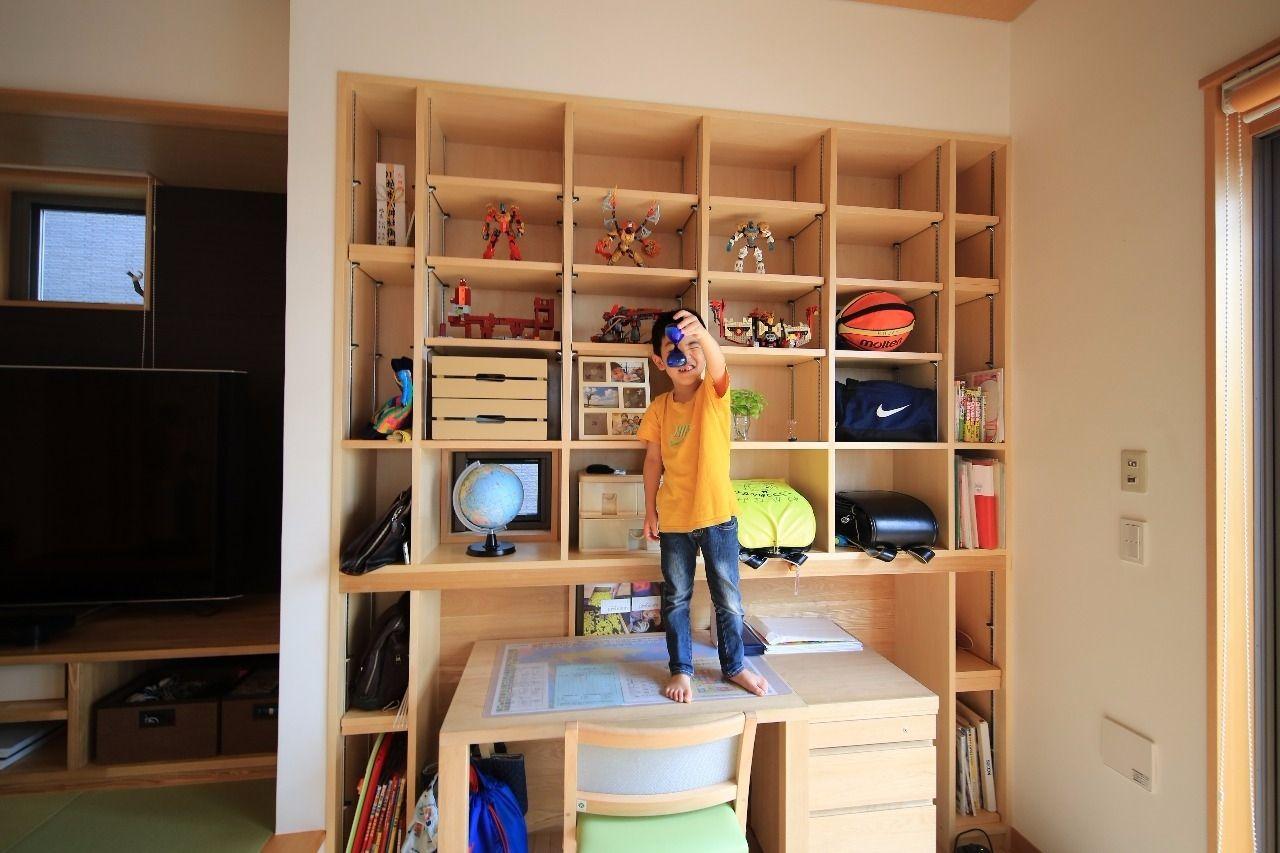 リビング 勉強スペース 子供