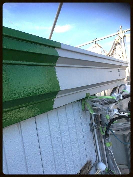 山に近い越生町のきづな住宅 アパートの塗装工事 冬場の悩み