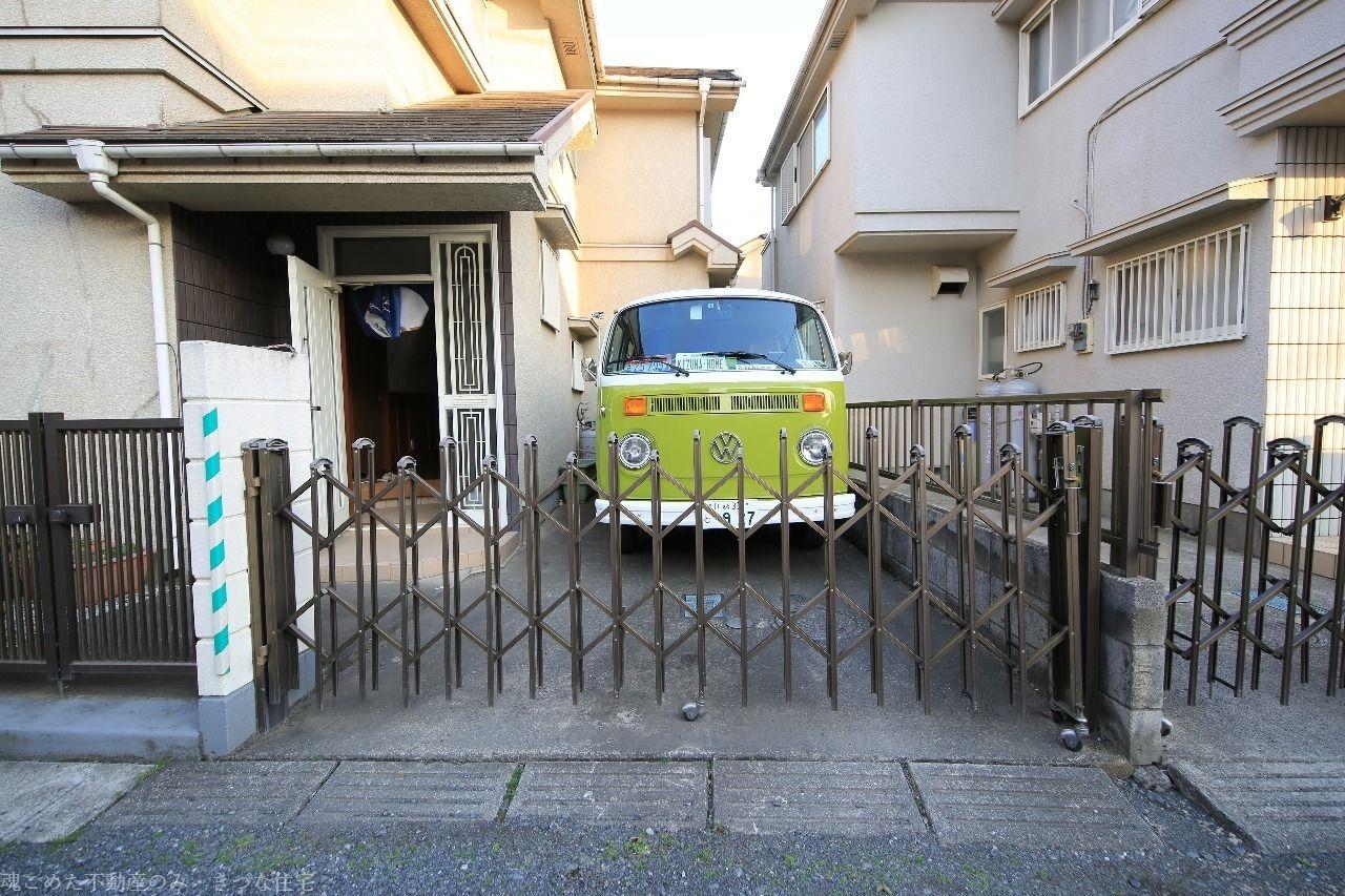 マークⅡサイズのワーゲンバス弟も駐車出来ました。